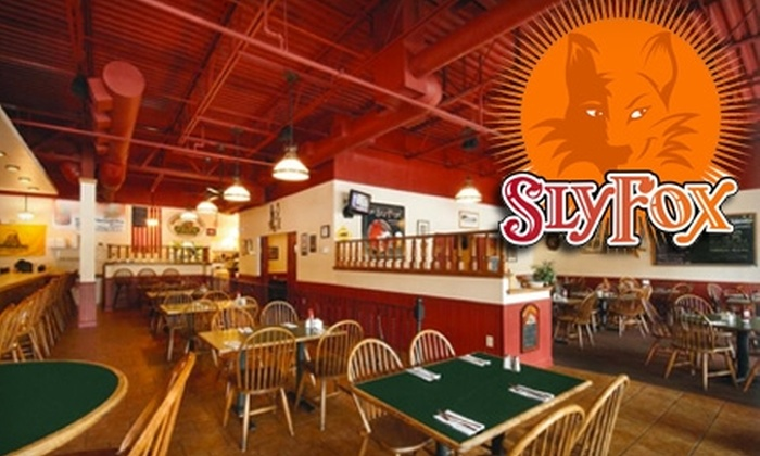 Sly Fox Brewhouse and Eatery - Phoenixville: $10 for $20 Worth of Pub Grub and Microbrews at Sly Fox Brewhouse and Eatery in Phoenixville