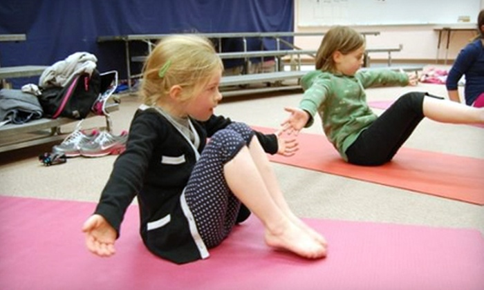 Yoga Monkey - Downtown Colorado Springs: $20 for One Month of Unlimited Kids' Classes at Yoga Monkey ($50 Value)
