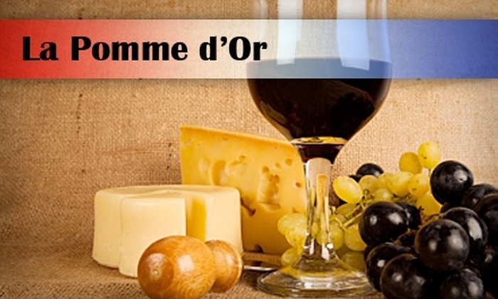 La Pomme d'Or - Riviera: $25 for $60 Worth of Fine French Cuisine and Drinks at La Pomme d'Or
