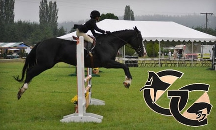 Gold Creek Equestrian Center - Cottage Lake: $28 for One Riding Lesson at Gold Creek Equestrian Center in Woodinville