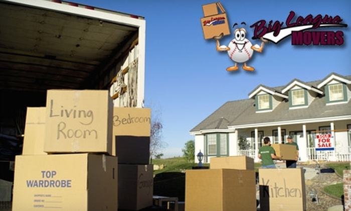 Big League Movers - Memphis: $80 for Two Hours of Moving Services from Big League Movers ($166 Value)