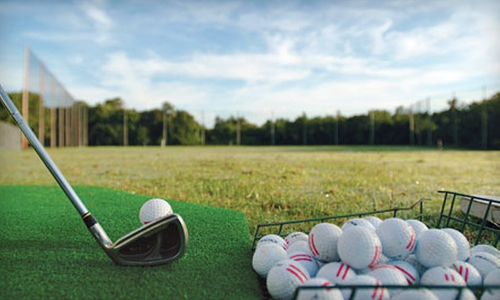 Tampa Bay Downs - Tampa Bay Area: $35, $75, or $160 Worth of Driving-Range Balls at Tampa Bay Downs