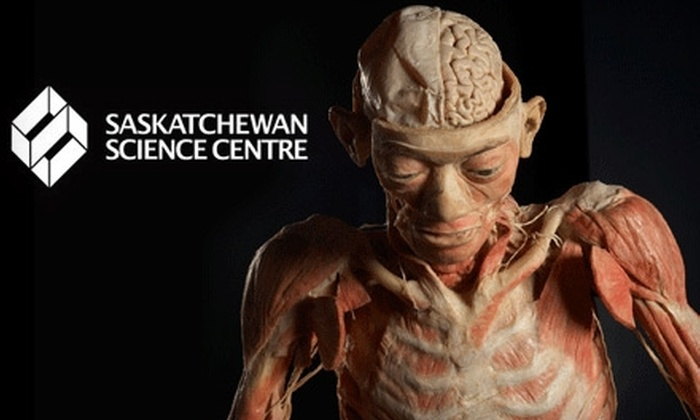 "Saskatchewan Science Centre - Regina: $20 for Two Tickets to the Saskatchewan Science Centre and Admission to the ""Our Body"" Exhibit ($40 Value) OR $14 for a Family Pack Admission to Saskatchewan Science Centre"