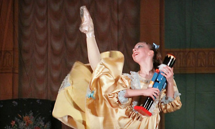 """The Nutcracker"" - Golden Hill Historic District,Woodstock: Two Reserved or VIP Tickets to Indiana Ballet Conservatory's ""The Nutcracker"" at The Toby (Up to Half Off)"