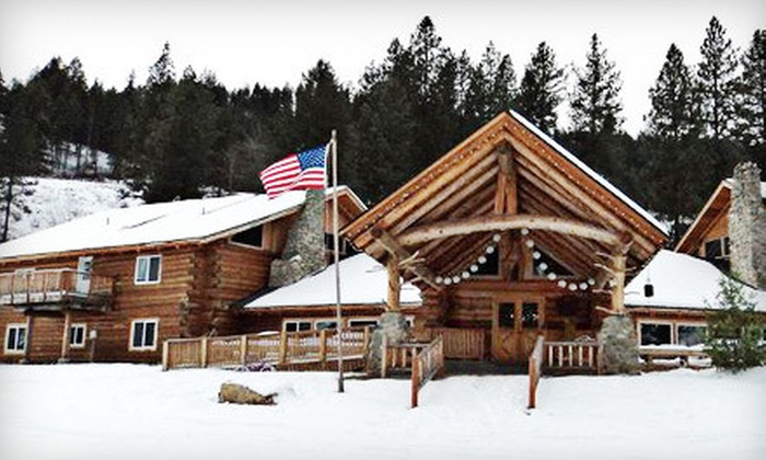 K Diamond K Guest Ranch - Republic, WA: Two-Night Stay with Meals and Winter Activities for Two at K Diamond K Guest Ranch in Republic (Half Off)