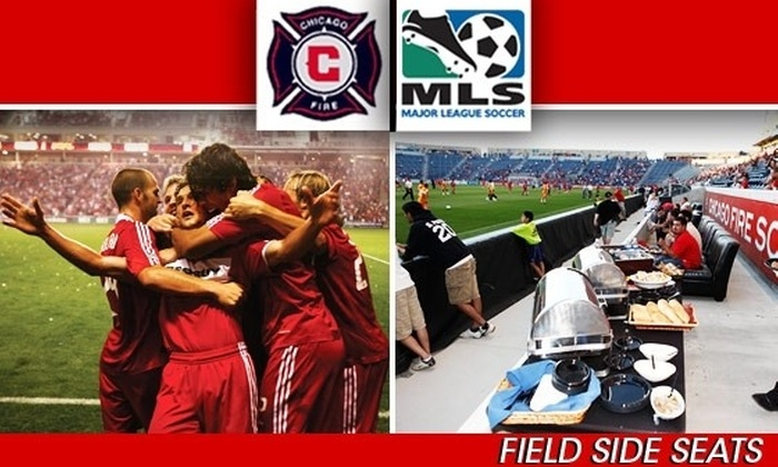 Chicago Fire - Multiple Locations: $99 FieldSide Ticket to Chicago Fire vs DC United, 8/29 (Normally $225)