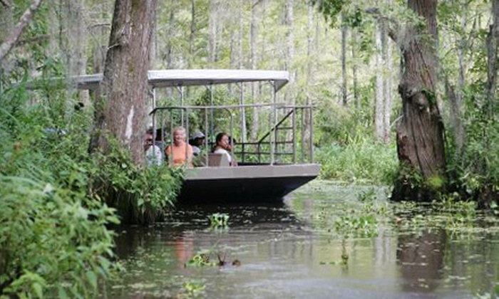 Pearl River Eco-Tours - Slidell: $23 for a Swamp Tour for Two from Pearl River Eco-Tours in Slidell (Up to $46 Value)