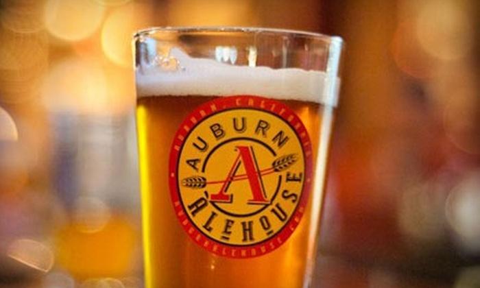 Auburn Alehouse - Auburn: $10 for $20 Worth of Pub Fare and Drinks at Auburn Alehouse