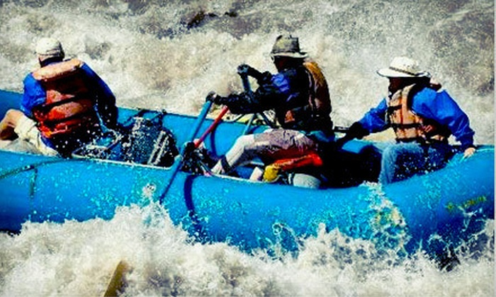 Big River Raft Trips - Lubbock: $30 for a Half-Day Rio Grande Whitewater-Rafting Trip for One from Big River Raft Trips (Up to $60 Value)