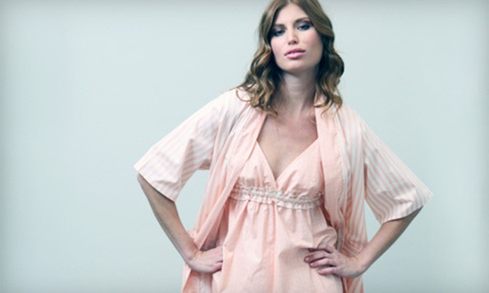 Toute la Nuit Loungewear: $49 for $100 or $90 for $200 Worth of Boutique Loungewear from Toute la Nuit Loungewear