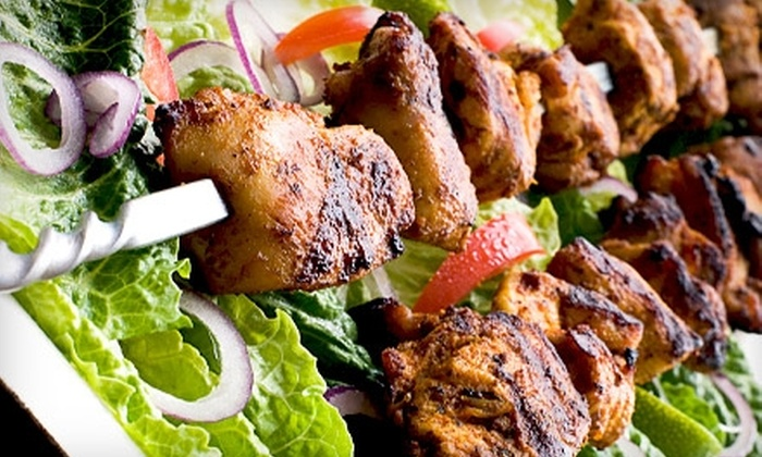 Caspian Cafe - Chicago: $10 for $20 Worth of Mediterranean Cuisine at Caspian Café