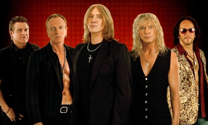 Def Leppard - Southeast Raleigh: $30 for Two General Admission Lawn Tickets to See Def Leppard, with Special Guest Heart, at Time Warner Cable Music Pavilion at Walnut Creek on June 24 ($64 Value)