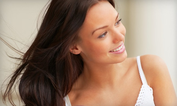 Champoux - Newberry: Haircut and Style with Partial Highlights or Full Color by Beth at Champoux (Up to 71% Off)