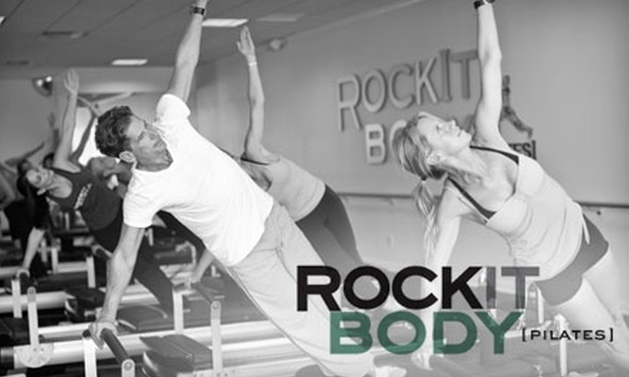 RockIt Body Pilates - Multiple Locations: $49 for Five Classes at RockIt Body Pilates ($155 Value)