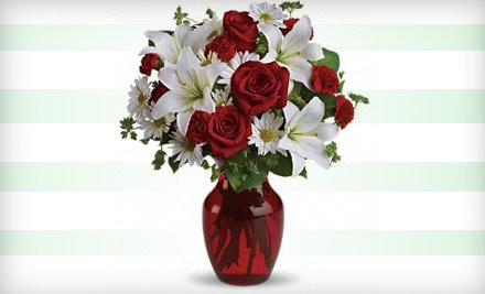 One Valentine's Day Bouquet - Cloverdale Florists in Little Rock
