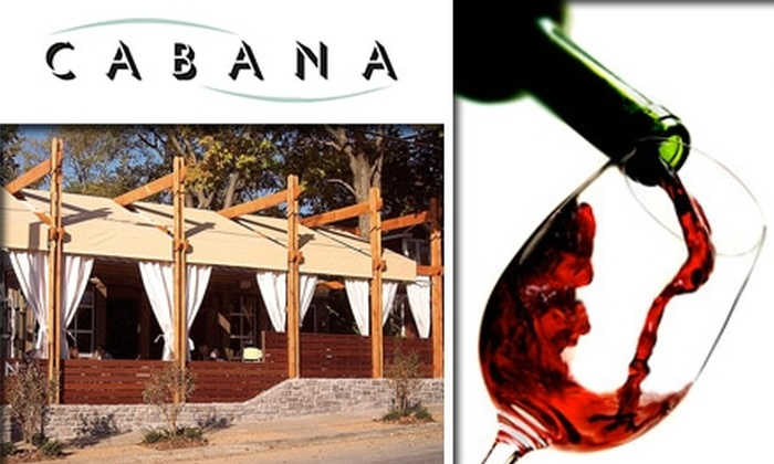 Cabana Wine Tasting Event  - Hillsboro West End: $12 for a Private Wine Tasting Showcase at Cabana on January 12 ($25 Value)