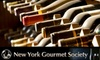 New York Gourmet Society - Chelsea: $25 for One Ticket to a Value Wine Tasting from The New York Gourmet Society on November 18 ($60 Value). Choose Between Two Sessions.