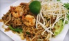 52% Off Lao-Thai Dinner & Wine for 2 at Sabaidee Restaurant