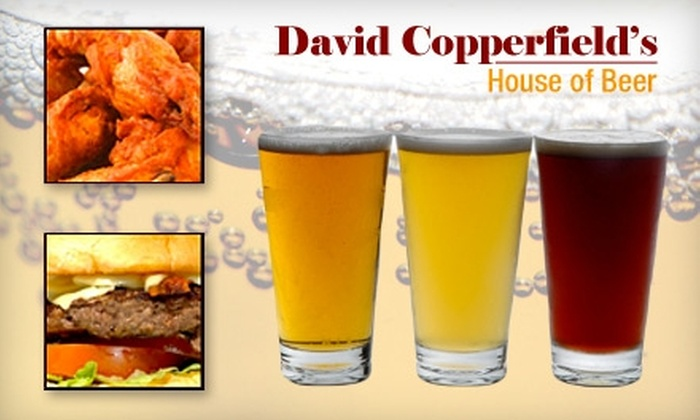David Copperfield's House of Beer - New York City: $15 for $30 Worth of Pub Fare and Craft Beer at David Copperfield's House of Beer