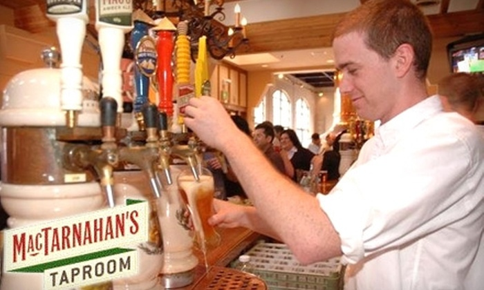 MacTarnahan's Taproom - Northwest Industrial: $12 for $25 Worth of Brewery Eats and Drinks at MacTarnahan's Taproom