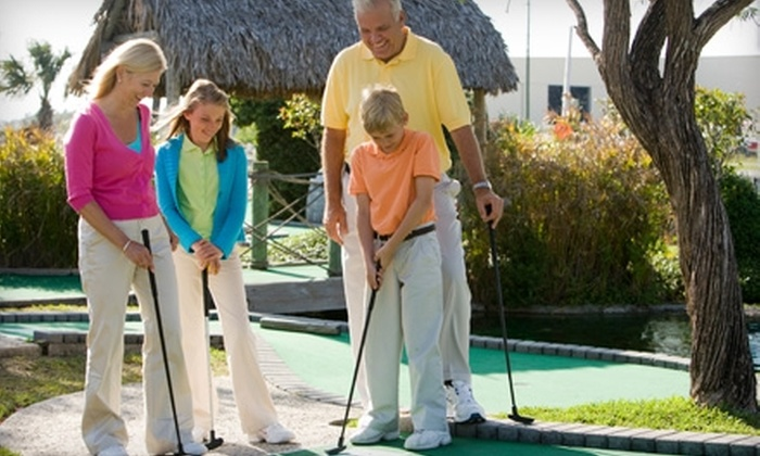 Adventure Landing - T. Edison School: $16 for 10 Rounds of Miniature Golf at Adventure Landing in Tonawanda ($37 Value)
