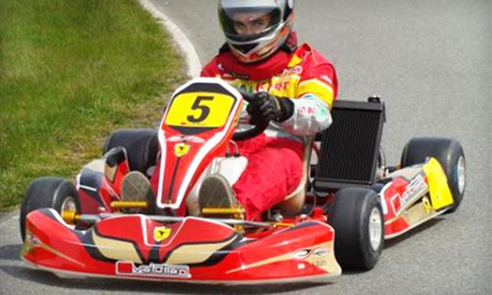 F440 Racing Challenge - Southmoor Park: Go-Karting Package for 1, 4, or 10 with Balaclavas and Ice Cream at F440 Racing Challenge in Tsawwassen (Up to 63% Off)