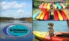 Ultimate Watersports - Multiple Locations: $45 for Three Two-Hour Kayak Excursions at Ultimate Watersports (Up to $120 Value)