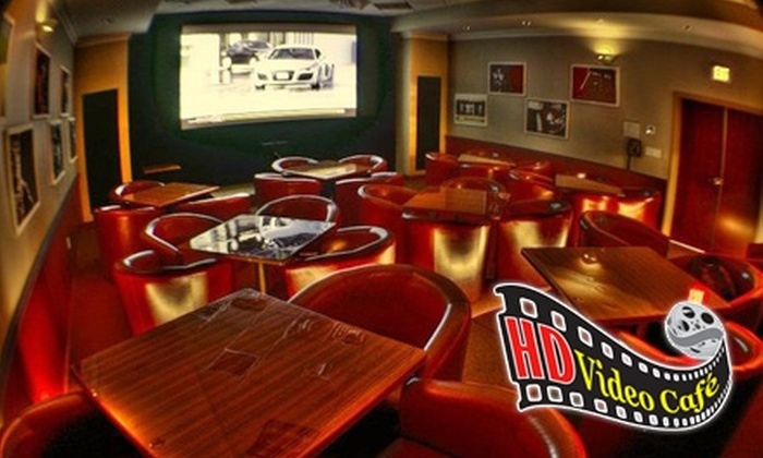 HD Video Café - Clarence: $8 for $20 Worth of Fare, Drinks, and Movies at HD Video Café in Williamsville