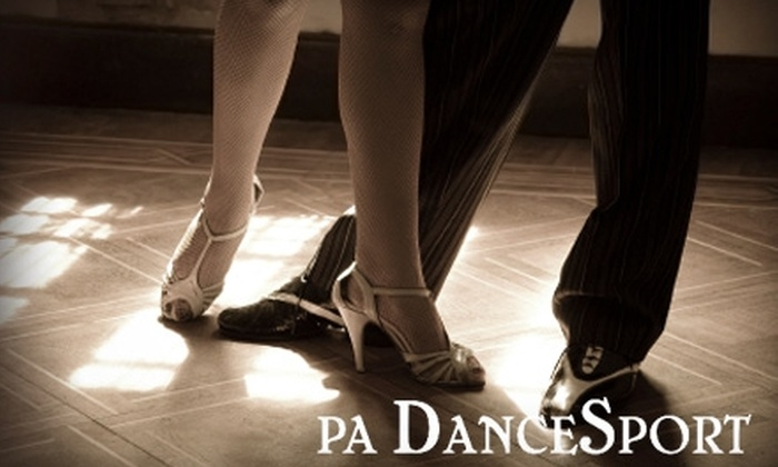 PA DanceSport Ballroom & Dance Center - Derry: $20 for a Four-Week Series Group Class ($50 Value) or $30 for Two Private Dance Lessons ($140 Value) at PA DanceSport Ballroom  & Dance Center