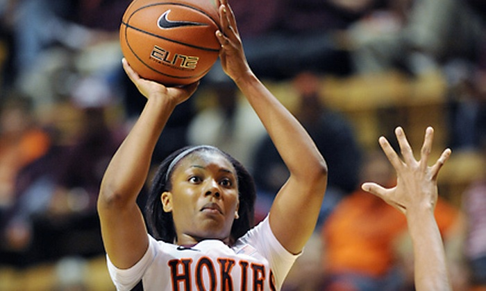 Virginia Tech Hokies - Downtown Eastside: Outing for Two or Four to See Virginia Tech Women Basketball Against Florida State in Blacksburg on January 8 (Up to 53% Off)
