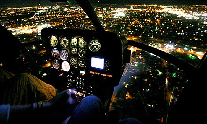 Adventure Helicopter Tours - Arleta: $199 for a Sunset Tour of Los Angeles and Celebrity Homes for Two from Adventure Helicopter Tours ($490 Value)