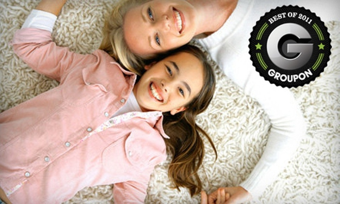 Northeast Carpet Cleaning - Clay: Carpet Cleaning for Two or Three Rooms or Air-Duct Cleaning from Northeast Carpet Cleaning (Up to 60% Off)