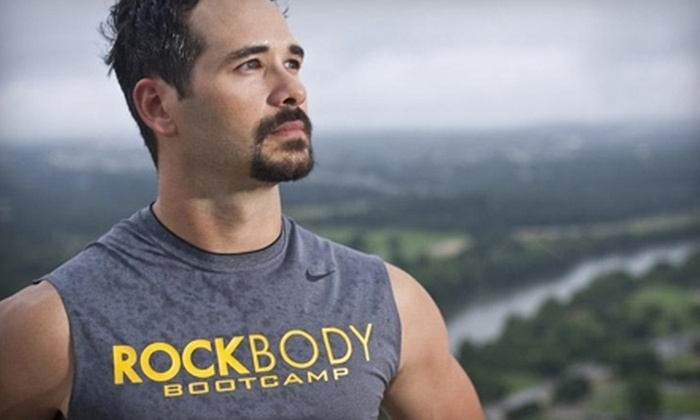 RockBody Boot Camp - Multiple Locations: $59 for Four Weeks of Unlimited Classes from RockBody Boot Camp ($160 Value)