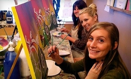 1 Children's Painting Class (up to a $30 value) - The Royal Canvas Painting Parlor in San Antonio
