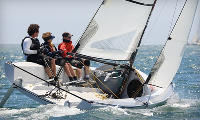 Open Sailing, Inc. - Marina Del Ray: Sailing Lesson or Merchandise at Open Sailing, Inc. in Marina del Rey