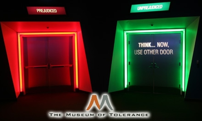 The Museum of Tolerance - Los Angeles: Up to 49% Off Membership to The Museum of Tolerance.  Choose from Two Options.