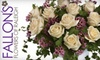 Fallon's Flowers of Raleigh - Multiple Locations: $25 for $50 Worth of Fresh Flowers at Fallon's Flowers