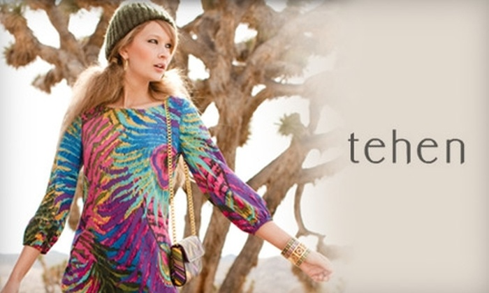 Tehen Boutique - Cherry Hill: $50 for $125 Worth of Women's High-End Fashion at Tehen Boutique