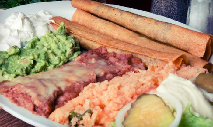 Chilero's Mexican Grill - Mesa: $10 for $20 Worth of Mexican Cuisine at Chilero's Mexican Grill in Mesa