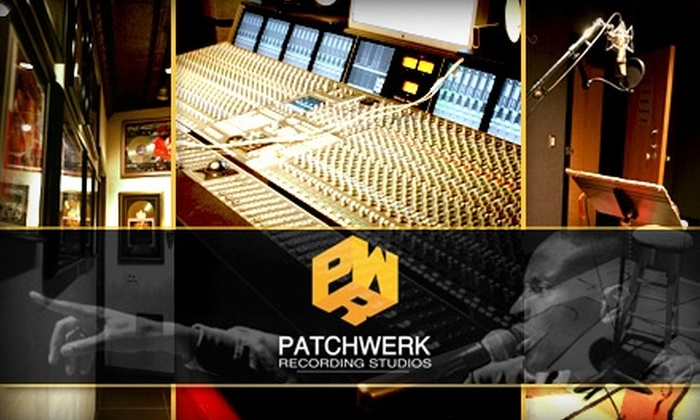 PatchWerk Recording Studios - Home Park: $137 for One Hour of Studio Time with Tracking Engineer, 100 CDs, & Full-Year Membership Rewards Card to PatchWerk Recording Studios