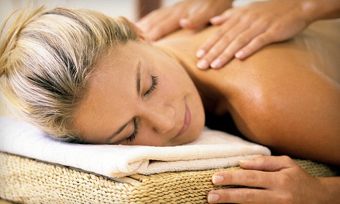 Iconz Hair Studios and Day Spa - South Baton Rouge: Custom Pumpkin Body Scrub or Massage Package with Pumpkin Body Scrub at Iconz Hair Studios and Day Spa (Up to 61% Off)