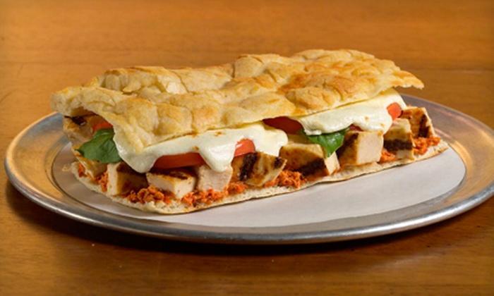 Cosi Tulsa - Tulsa: $5 for $10 Worth of Flatbread Sandwiches, Salads, and Café Fare at Cosi Tulsa
