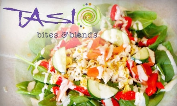 Tasi Juice Bar - Mount Pleasant: $5 for $12 Worth of Smoothies and Snacks at Tasi Juice Bar