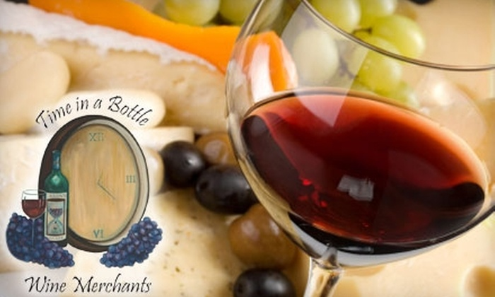 Time In A Bottle - Downtown Redlands: $20 for $40 Worth of Wine and Gourmet Cuisine at Time in a Bottle in Redlands