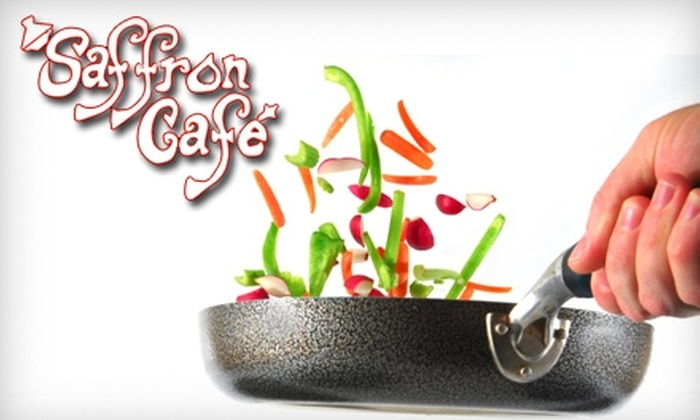 Saffron Cafe - Downtown Indianapolis: $100 for a Moroccan Cooking Class at Saffron Cafe ($200 Value)