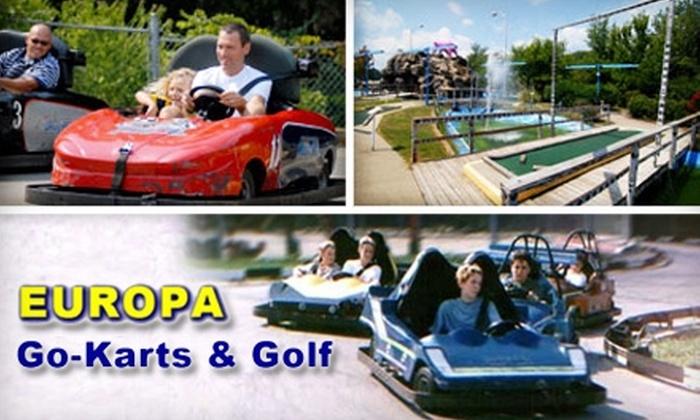 Go Karts Nashville >> Half Off At Europa Go Karts And Golf Europa Go Kart And Golf Groupon