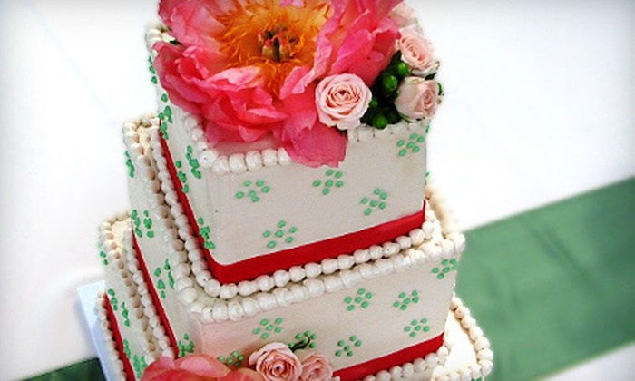Deborah's Specialty Cakes - Athens-Clarke County unified government (balance): $50 for $100 Toward a Custom Wedding Cake from Deborah's Specialty Cakes