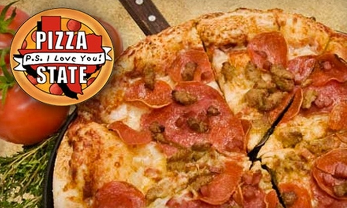 Pizza State - Bay Area: $10 for $20 Worth of Pizza and More at Pizza State