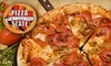 $10 for Pizza and More at Pizza State