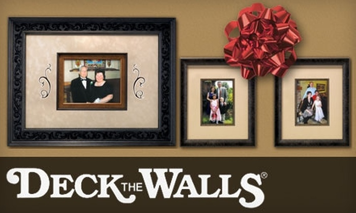 Deck The Walls - Minneapolis / St Paul: $45 for $100 Worth of Custom Framing at Deck The Walls